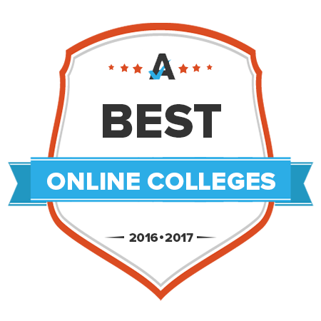 Best Online College Award Badge
