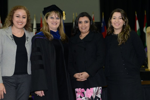 Photo from the Graduate School's commencement