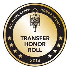 Phi Theta Kappa Honor Society Transfer Honor Roll