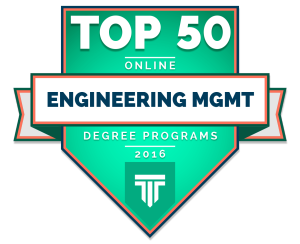 Top 50 Engineering Mgmt Programs