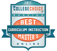 Best Curriculum and Instruction Master's Degree Badge
