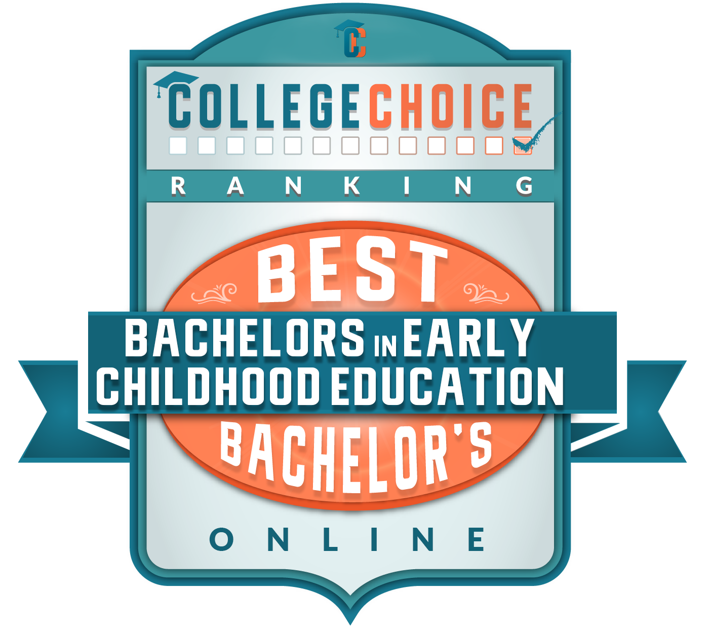 CollegeChoice Best Bachelors in Early Childhood Education Badge