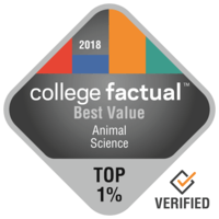 College Factual Best Value Animal Science 2018