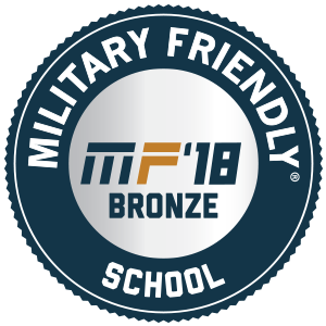 Military Friendly Schools Badge