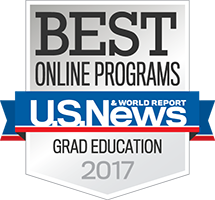 U.S. News Best Online Graduate Education Program Badge