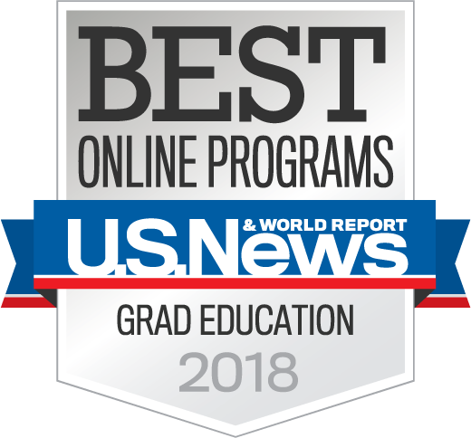 US News and World Report Grad Education Award Badge