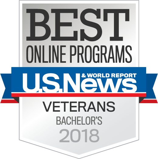 US News and World Report Veterans Bachelors Award Badge