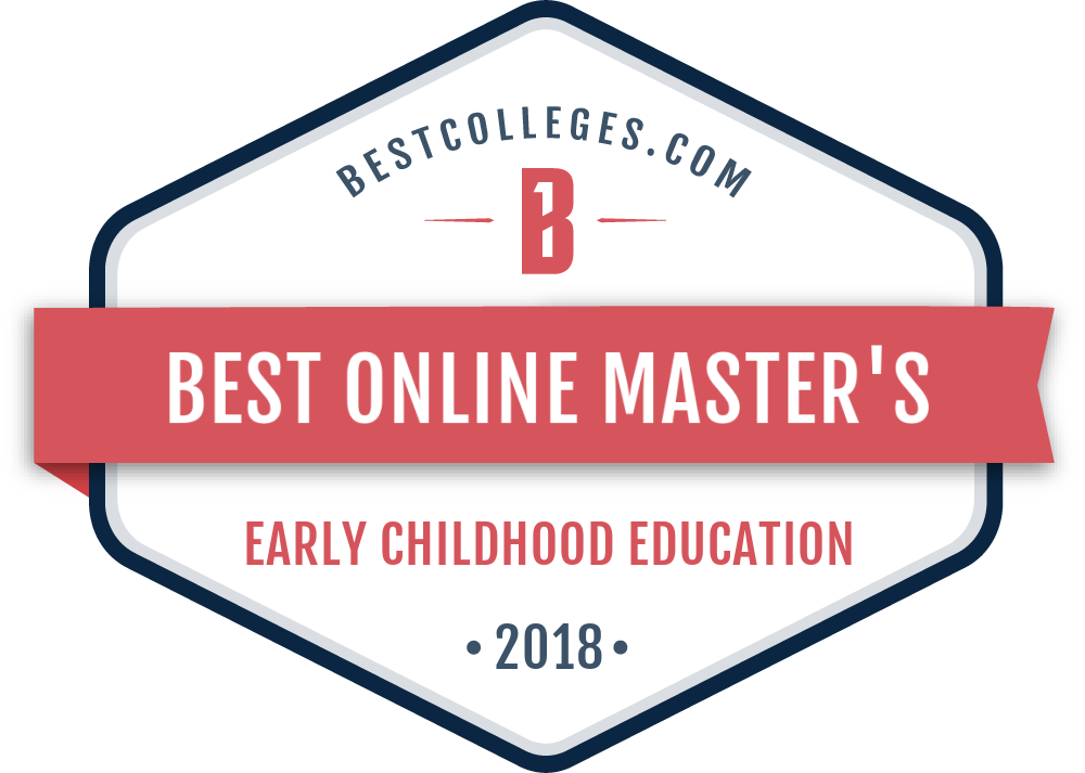 Best Online Master's in Early Childhood Education Program Badge