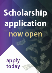 Scholarship application now open