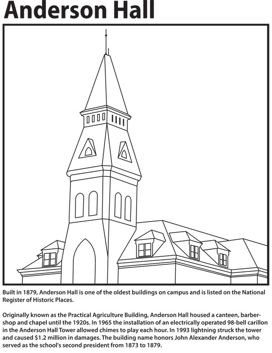 Coloring Pages Virtual Open House Global Campus Kansas State