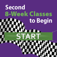 Second 8-Week Classes to Begin