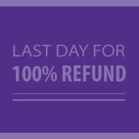 Last Day for 100% Refund