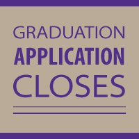 Graduation Application Closes