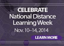National Distance Learning Week Nov 10 to 14